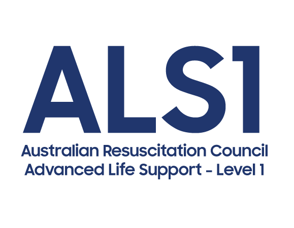 advanced life support ALS1 logo Australian Resuscitation Council